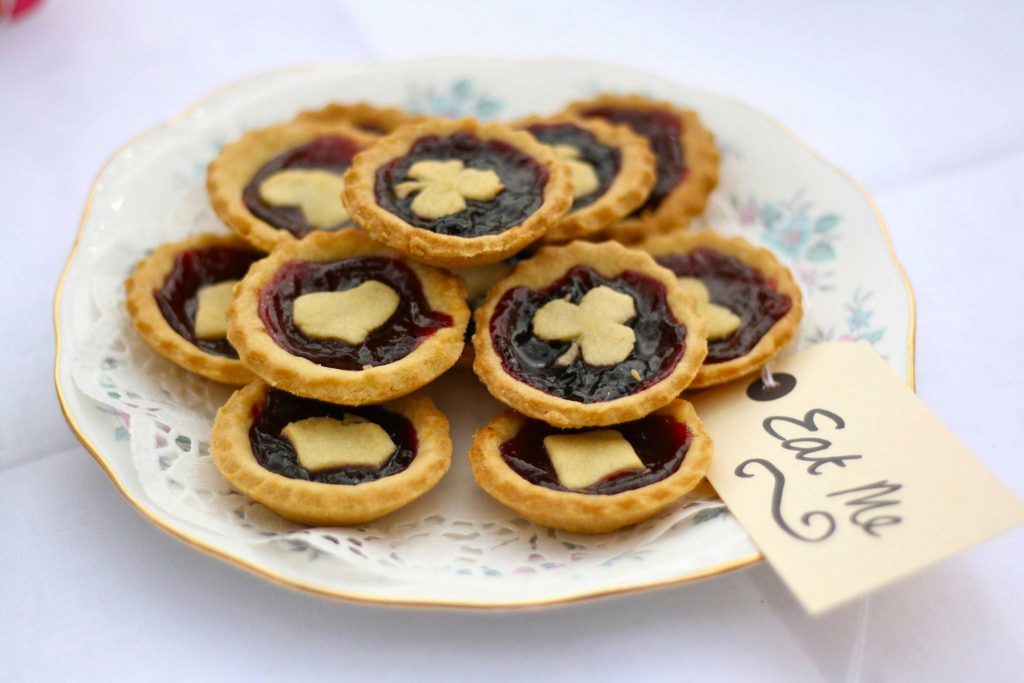 Jam Tarts for a Mad Hatter's Theme Tea Party